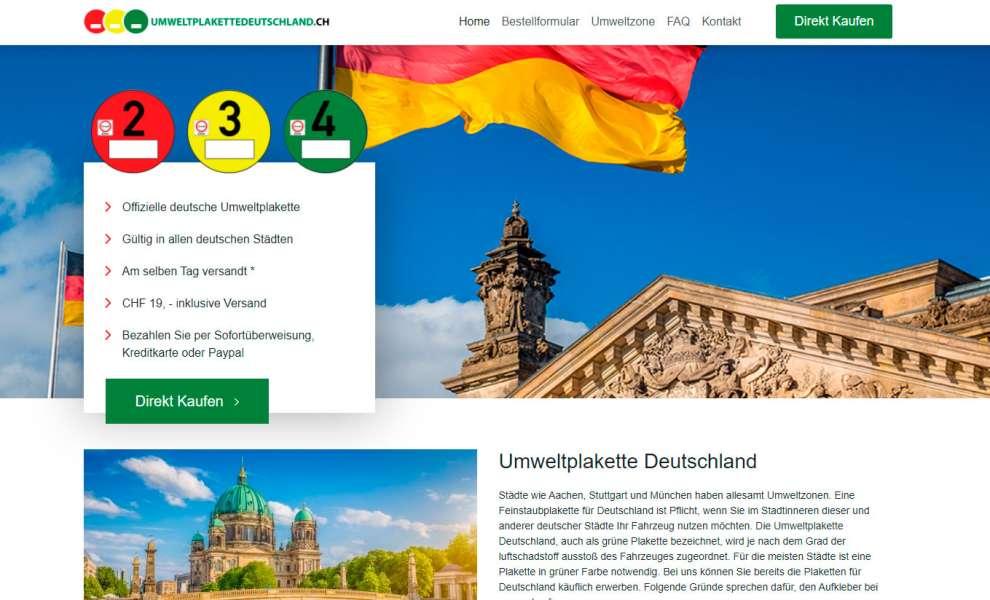 Umweltplakettedeutschland.ch